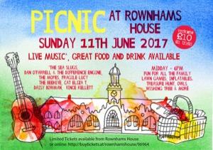 Picnic at Rownhams House